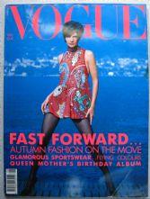 Vogue Magazine - 1990 - August